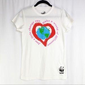 Chaser WWF Little Change World Love T-shirt